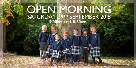 Foremarke Hall Open Morning Sept 18