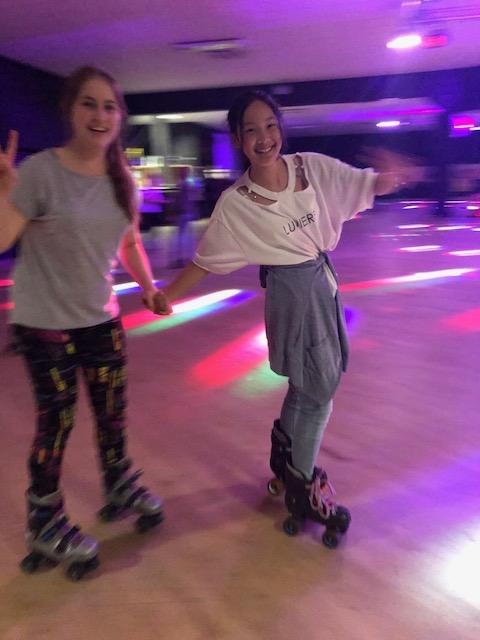 Splash Fun and Roller Disco Dancing